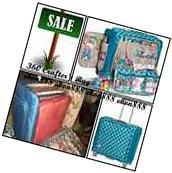 Craft Tote Bag Storage Rolling Pockets Organizer Supply