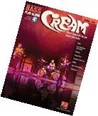 Cream Bass Play Along 8 Songs! Tab Book NEW