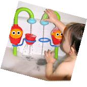 Creative Cartoon Flow 'N' Fill Spout Bath Toy Baby Gift
