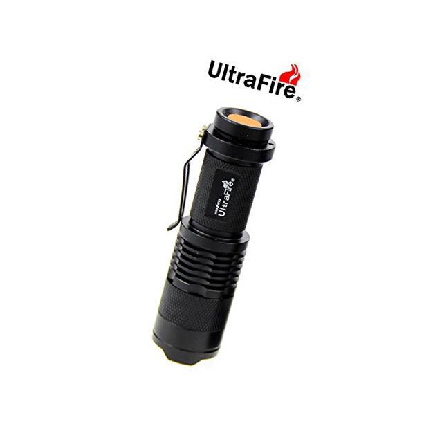 UltraFire® Mini Cree 7w 300lm Led Flashlight One Mode Torch