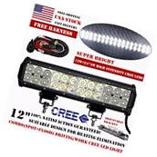 12inch 72W Cree Led Work Light Bar Flood Spot SUV Offroad