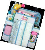 Crib and Changing Table Organizer - Non-Sagging Nursery