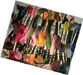 SALE!!! DMC CROSS STITCH THREAD 25 PCS. , FREE PATTERN