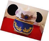 Disney Cruise line Mickey Mouse Captains Hat + Bonus Cast