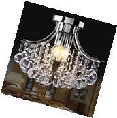 Crystal Top 3 Light Chandelier Lighting Dining /Living Room