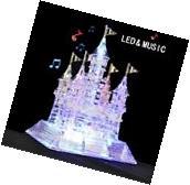 Crystal Puzzle 3D Puzzle Music Flash Model DIY Castle