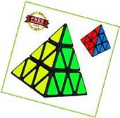 CUBE PYRAMID Speed Magic Triangle Puzzle Toy Speedcubing