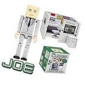 The Cubes - Joe Action Figure Play Set - Novelty Office Toy