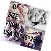 Elephant Pillow XL Cushion Stuffed Doll Toy Baby Kids Soft