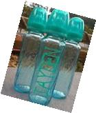 Custom Evenflo Glass Baby Bottles 8oz in Teal