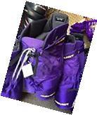 Bauer Custom Hockey Pants Purple with Gold