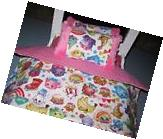Cute American Girl Inspired 3 Piece Shopkins Doll Bedding