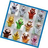 Cute Funny Cartoon Plush Hand Puppets For Kids Children Baby