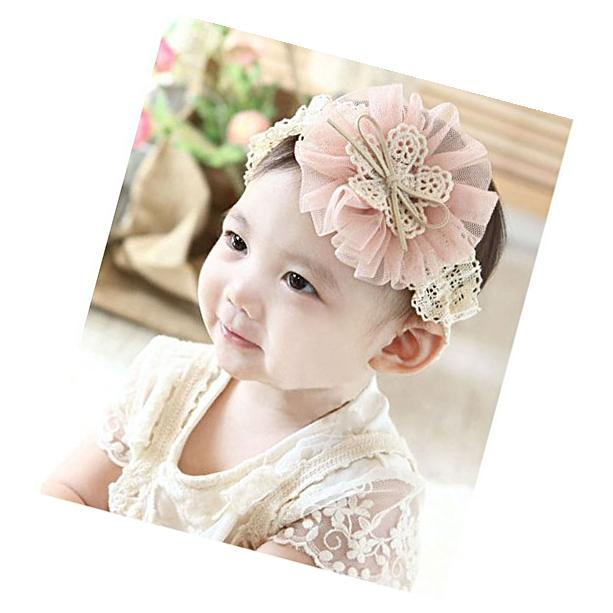 Mokingtop®Hot Cute Lovely Kids Baby Flowers Lace Bow