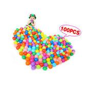 100pcs Multi-Color Cute Kids Soft Play Balls Toy for Ball