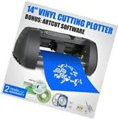 "New 14"" Cutter Vinyl Cutting Plotter Desktop Machine Artcut"