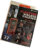 Cobra CXT1095 FLT GMRS Floating Walkie Talkies 2 way radio
