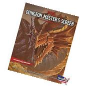 D&D Dungeon Master's Screen Game Play Roleplaying Fantasy Dragons Campaign Hobby