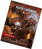 D&D DUNGEONS & DRAGONS RPG 5.0 NEXT PLAYER'S HANDBOOK NEW 5E