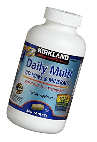 Daily Multi Vitamins & Minerals Tablets, 1000-Count Pack