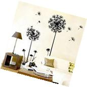 Dandelion Fly Mural Removable Decal Room Wall Sticker Home