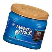 Maxwell House Dark Roast Ground Coffee Large Can