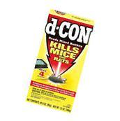 D-Con Ready Mix 4 Bait Trays. Kills Mice Rat Killer Rodent