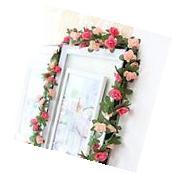 Art Decor Artificial Flower Rose Vine Plants Home Wedding