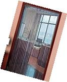 NEW Decorative Door Crystal String Curtain Wall Panel Fringe