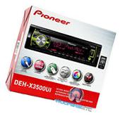 PIONEER DEH-X3500UI CD MP3 WMA PANDORA IPOD USB AUX SD