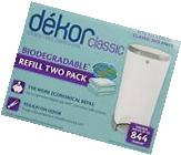 Dekor Diaper Bags Refills Biodegradable Two  Pack Regular