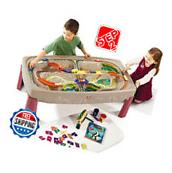 Step2 Deluxe Canyon Road Train and Track Table, Includes 6-