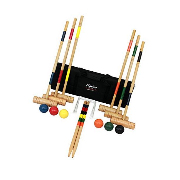 Brand New Baden Deluxe Series Croquet Set