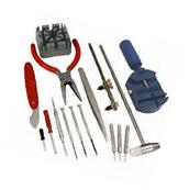 16pc Deluxe Watch Repair Kit  Link Remover Back Case opener