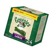 GREENIES Original Dental Dog Treats Large 36 oz