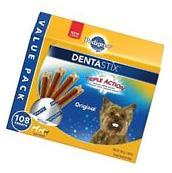 PEDIGREE Dentastix Toy/Small Dog Treats Original 108 Treats