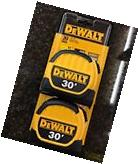 DeWalt 30' Fractional Read Tape Measure DWHT36109 2 Pack