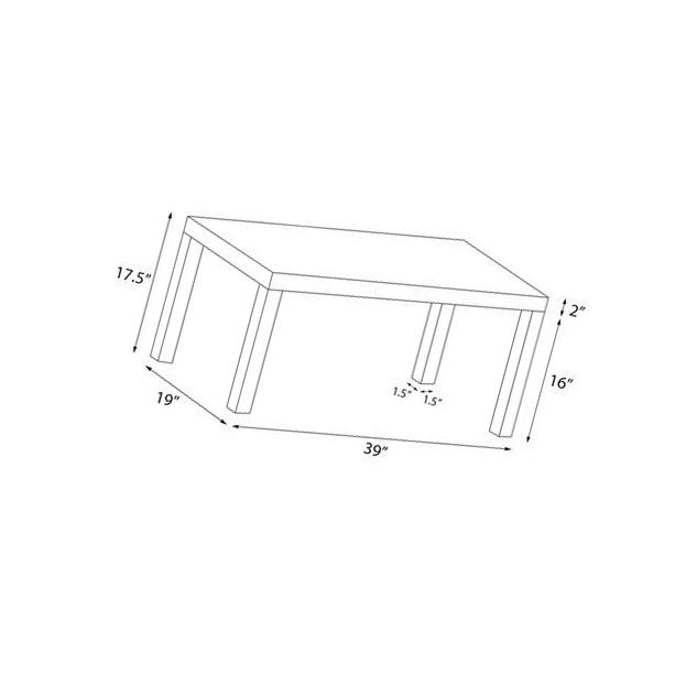 DHP Parsons Coffee Table - Espresso - 5099096