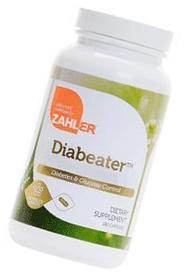 Zahlers Diabeater Advanced Diabetes Formula - 180 Capsules