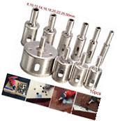 15 Pcs 3-50mm Diamond Drill Bits Set Hole Saw Cutter Tool