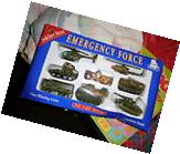 NEW SOLDIER BEAR PRODUCTIONS DIE CAST METAL CAMO SET 8 TANK JEEP HELICOPTERS
