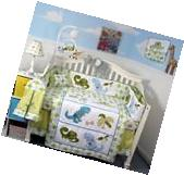 SOHO Dinosaur Crib Nursery Bedding Set 13 pcs with FREE BABY