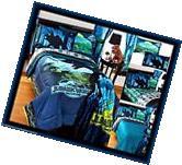 JURASSIC WORLD DINOSAUR Biggest Growl FULL Bed In Bag w/