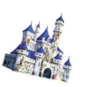Disney 3D Castle Jigsaw Puzzle - 216-Piece