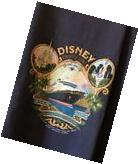 Disney Cruise Line Panama Canal Crossing 2005 XXL NWT Men's