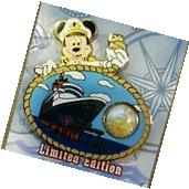 DISNEY CRUISE LINE PIN DCL PIECE OF HISTORY  WONDER MOORING
