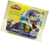 Play-Doh Disney Frozen Sparkle Snow Dome Set with Elsa and