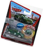Disney Pixar Cars NIGEL GEARSLEY with Bonus Micro Drifter