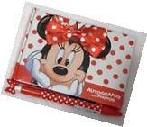 Disney World Resort Minnie Mouse Autograph Book & Matching
