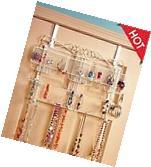 Jewelry Display Rack Hanger Organizer Over The Door Earrings